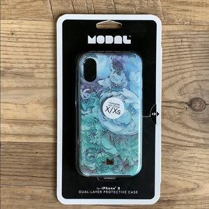 NEW Modal floral iPhone 8/x/xs Case